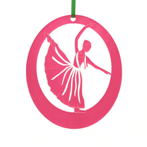 Dream Fairy Laser-Etched Ornament - Ballet Gift Shop