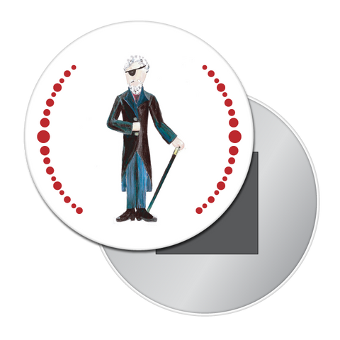 Drosselmeyer Button / Magnet