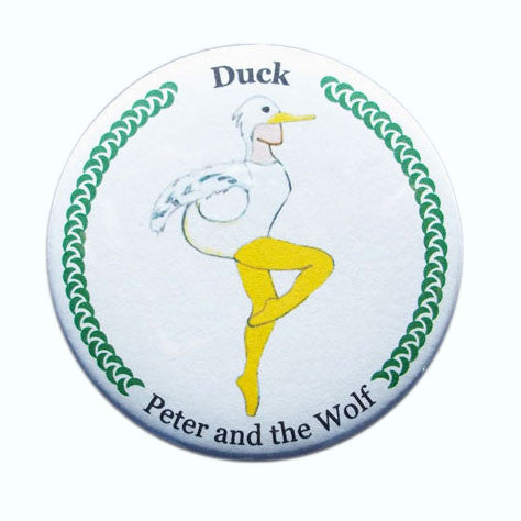 Duck Button/Magnet/Mirror - Ballet Gift Shop