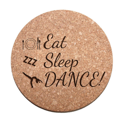 Eat, Sleep, Dance Trivet