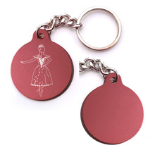 Load image into Gallery viewer, Cinderella Key Chain (Choose from 4 designs)