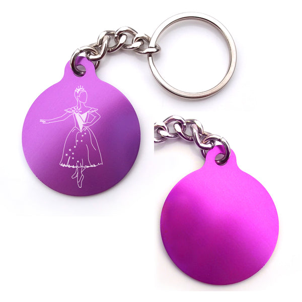 Cinderella Key Chain (Choose from 4 designs)