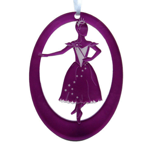Fairy Godmother Laser-Etched Ornament - Ballet Gift Shop