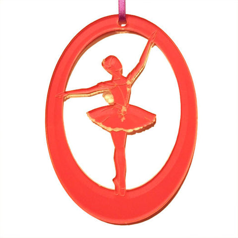 Fairy Laser-Etched Ornament - Ballet Gift Shop