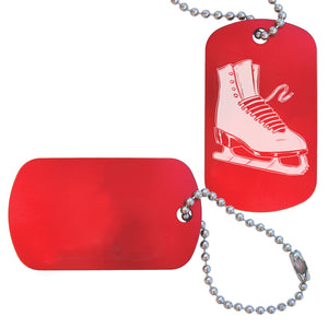 Figure Skating Bag Tag (Choose from 3 designs) - Ballet Gift Shop