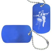 Load image into Gallery viewer, Figure Skating Bag Tag (Choose from 3 designs) - Ballet Gift Shop
