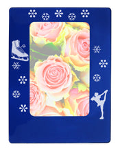 "Load image into Gallery viewer, Figure Skating 4"" x 6"" Magnetic Photo Frame (Vertical/Portrait) - Ballet Gift Shop"