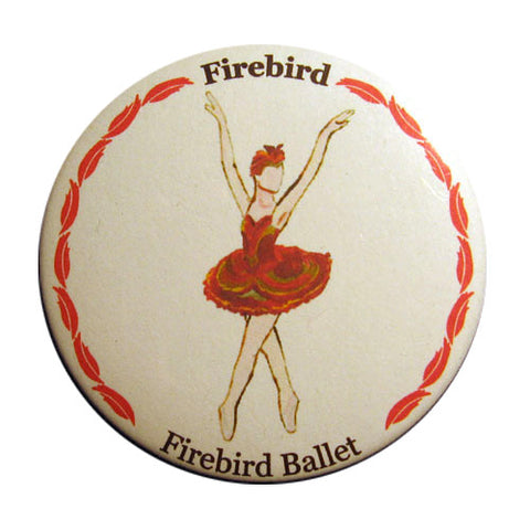 Firebird Button / Magnet