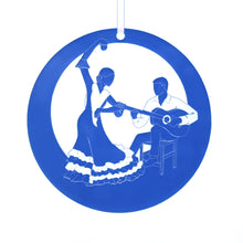 Load image into Gallery viewer, Con la Guitarra Flamenco Laser-Etched Ornament - Ballet Gift Shop