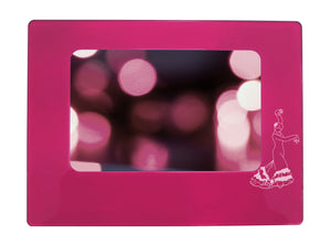 "Flamenco 4"" x 6"" Magnetic Photo Frame (Horizontal/Landscape) - Ballet Gift Shop"