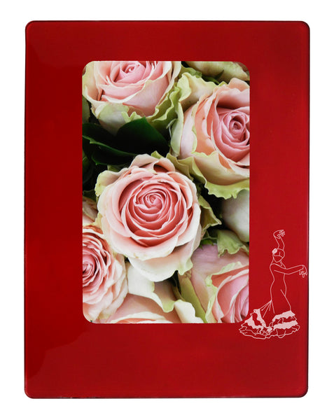 "Flamenco 4"" x 6"" Magnetic Photo Frame (Vertical/Portrait)"