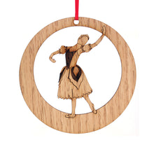 Load image into Gallery viewer, Flower Laser-Etched Ornament - Ballet Gift Shop