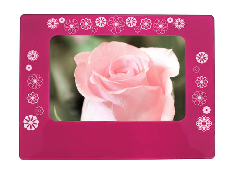 "Waltz of the Flowers 4"" x 6"" Magnetic Photo Frame (Horizontal/Landscape)"