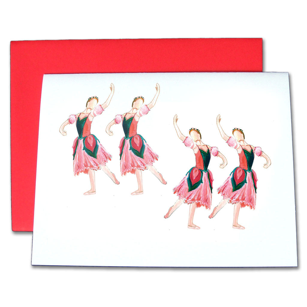 Flowers Note Cards - Ballet Gift Shop
