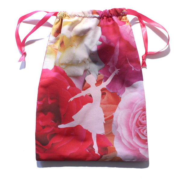 Waltz of the Flowers Drawstring Tote - Ballet Gift Shop
