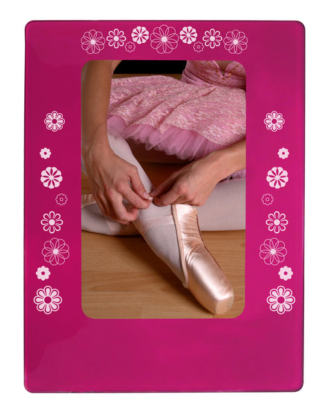"Waltz of the Flowers 4"" x 6"" Magnetic Photo Frame (Vertical/Portrait) - Ballet Gift Shop"
