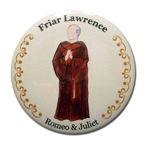 Friar Lawrence Button/Magnet/Mirror - Ballet Gift Shop