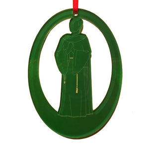 Friar Lawrence Laser-Etched Ornament - Ballet Gift Shop