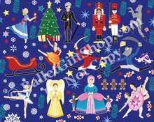Load image into Gallery viewer, 8x10 Nutcracker Ballet Autograph Pillow - Ballet Gift Shop