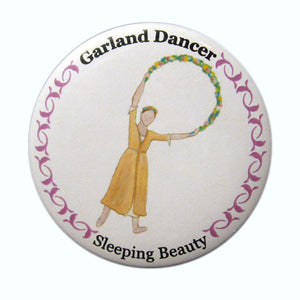 Garland Dancer Button/Magnet/Mirror - Ballet Gift Shop