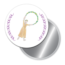 Load image into Gallery viewer, Garland Dancer Button/Magnet/Mirror