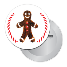 Load image into Gallery viewer, Gingerbread Boy (from Hansel & Gretel) Button/Magnet/Mirror