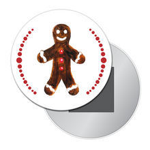 Load image into Gallery viewer, Gingerbread Boy (from Nutcracker) Button/Magnet/Mirror