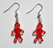 Load image into Gallery viewer, Gingerbread Men Earrings - Ballet Gift Shop