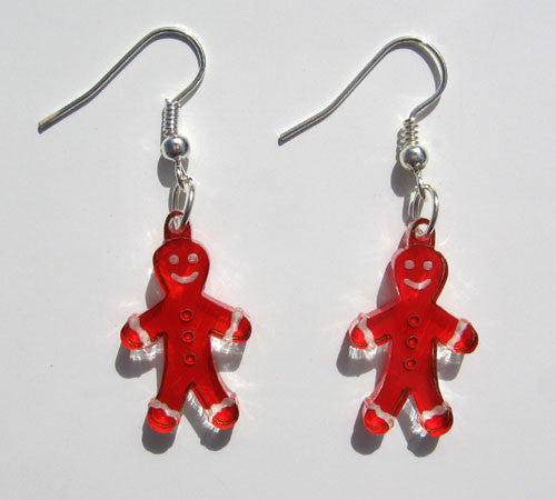 Gingerbread Men Earrings - Ballet Gift Shop