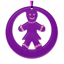Load image into Gallery viewer, Gingerbread Girl Laser-Etched Ornament - Ballet Gift Shop