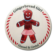 Load image into Gallery viewer, Gingerbread Girl (from Hansel & Gretel) Button/Magnet/Mirror - Ballet Gift Shop