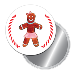 Gingerbread Girl (from Nutcracker) Button/Magnet/Mirror