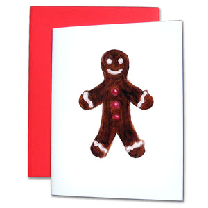 Gingerbread Boy Note Cards - Ballet Gift Shop