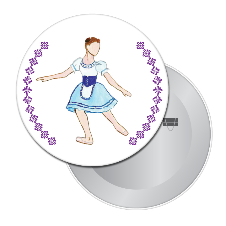 Giselle, Act I Button / Magnet