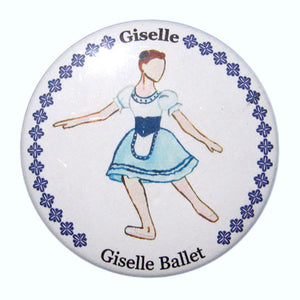 Giselle, Act I Button/Magnet/Mirror - Ballet Gift Shop