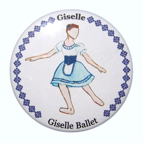 Giselle, Act I Button / Magnet - Ballet Gift Shop