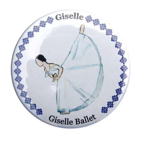 Giselle, Act II Button / Magnet - Ballet Gift Shop