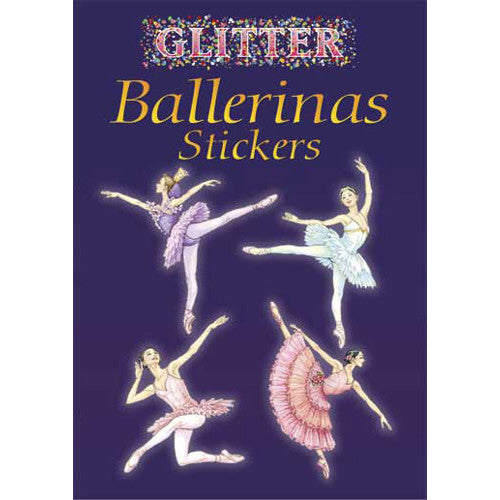 Glitter Ballerinas Stickers - Ballet Gift Shop