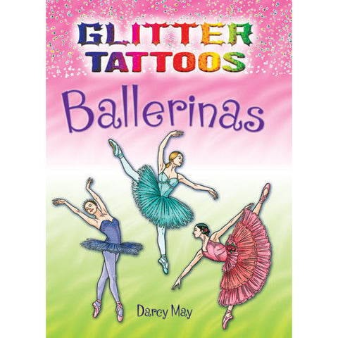 Glitter Tattoos Ballerinas - Ballet Gift Shop