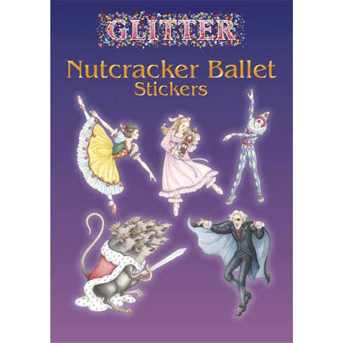 Glitter Nutcracker Ballet Stickers - Ballet Gift Shop
