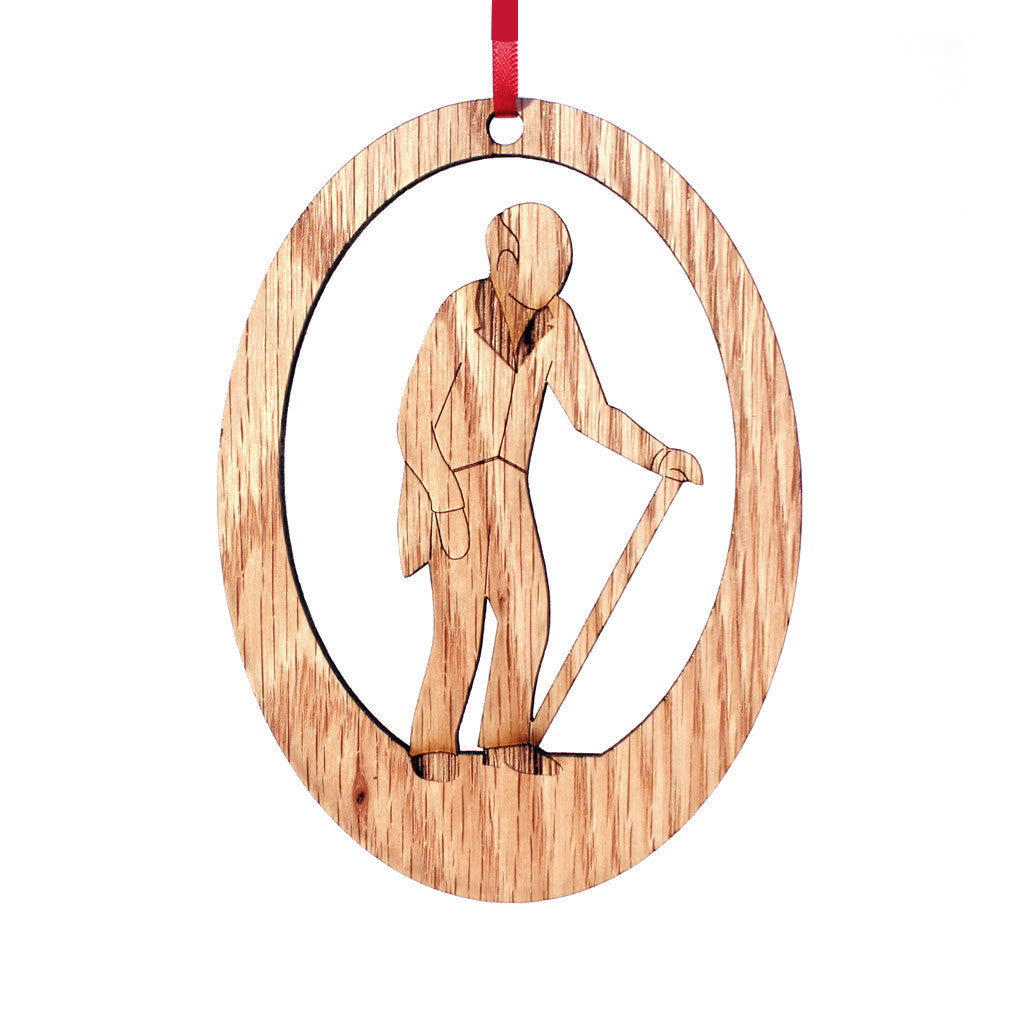Grandfather Laser-Etched Ornament - Ballet Gift Shop