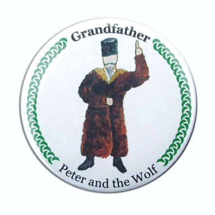 Peter's Grandfather Button / Magnet