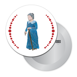 Grandmother Button/Magnet/Mirror