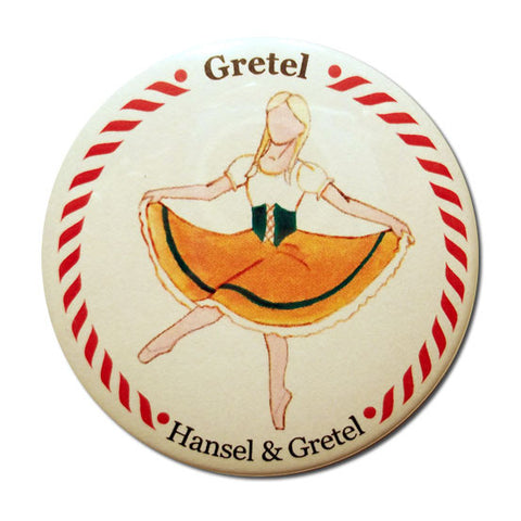 Gretel Button / Magnet - Ballet Gift Shop