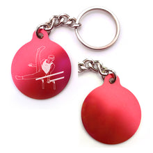 Load image into Gallery viewer, Gymnastics Key Chain (Choose from 4 designs)