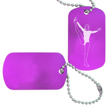 Load image into Gallery viewer, Women's Gymnastics Bag Tag (Choose from 3 designs) - Ballet Gift Shop