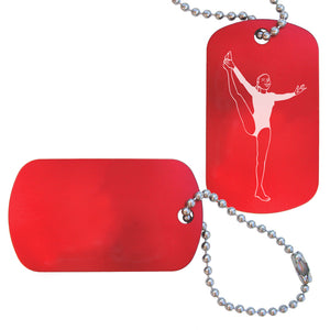 Women's Gymnastics Bag Tag (Choose from 3 designs) - Ballet Gift Shop