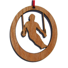 Load image into Gallery viewer, Male Gymnast Laser-Etched Ornament - Ballet Gift Shop