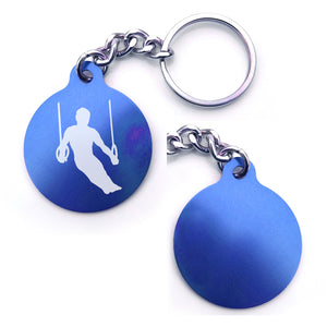 Gymnastics Key Chain (Choose from 4 designs)