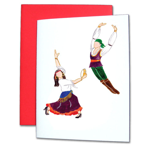Gypsies Note Cards - Ballet Gift Shop